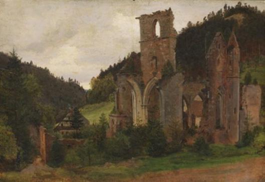 Ruin Of All Saints Monastery In Oppenau, Lierbachtal