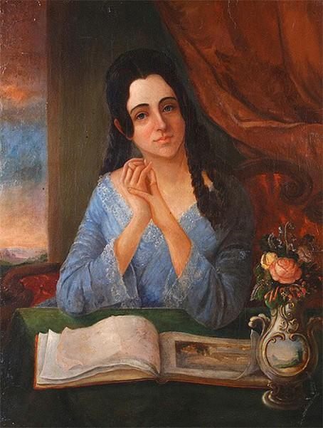 Sarah Miriam Solis (The Artist's Wife)