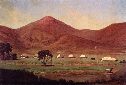 Surveyor's Camp of 1853