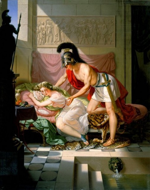 The Rape Of The Sabines - The Captivity