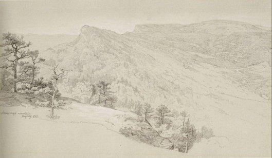 View Of The Shawangunke Mountains
