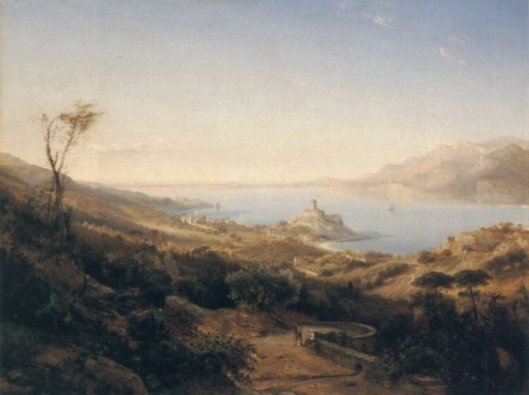 A View Of Castello Malcesine, Lake Garda, Italy