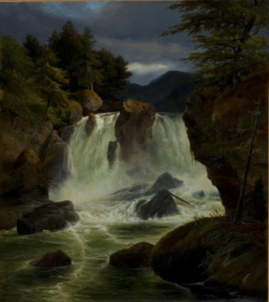 Cascade Of Stora Mollan, Sweden