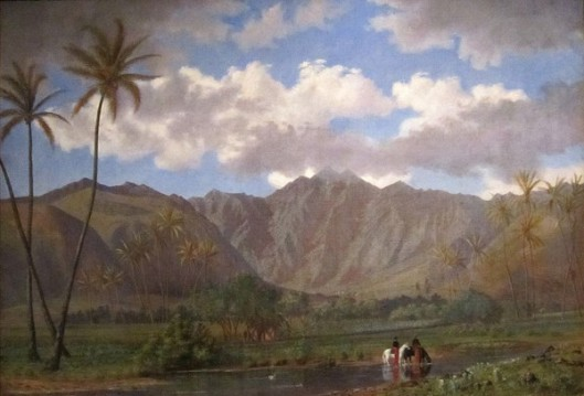 Manoa Valley From Waikiki