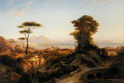 Mt. Vesuvius And The Bay Of Naples