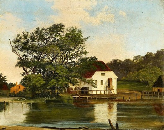 Old Water Mill In Silkeborg