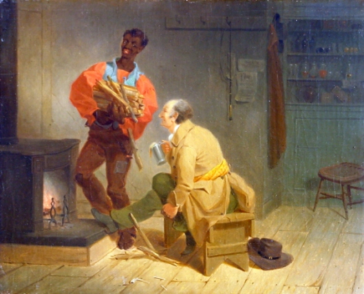 Stoking The Fire - Southern Scene