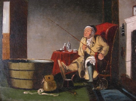 The Gouty Angler