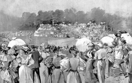 The National Lawn-Tennis Tournament At Newport