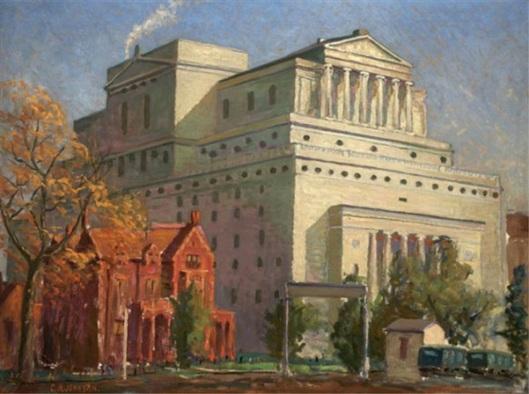 The New Masonic Temple, St. Louis, Missouri