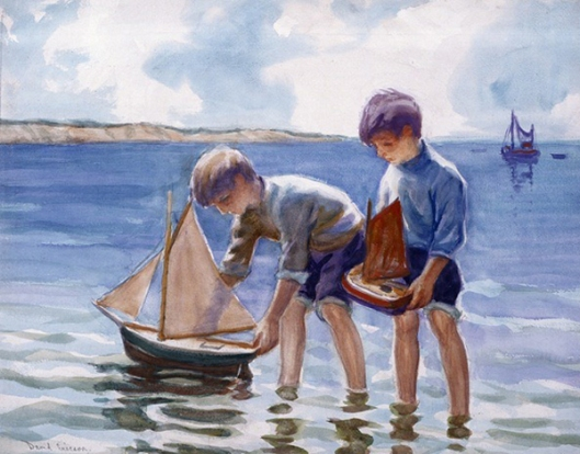 Two Boys - The Sailing Of Ships
