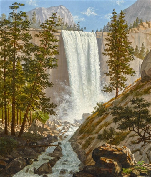 Vernal Falls, Yosemite Valley