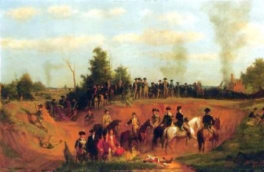 American Battle Scene