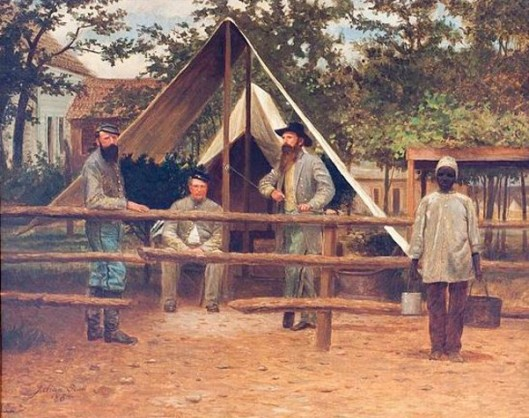 Encampment (Stonewall Jackson, J. F. Wilson and Jeb Stewart)