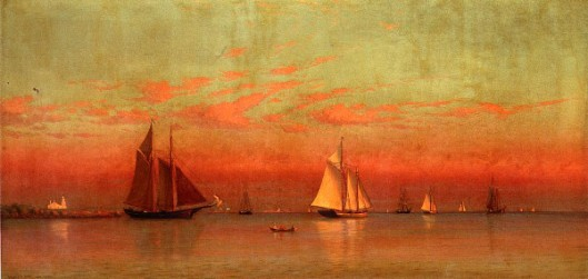 Evening In Gloucester Harbor