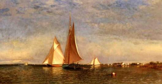 Fishing Boats On Jamaica Bay