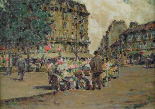 Flower Market, Paris