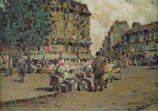 Flower Market, Paris