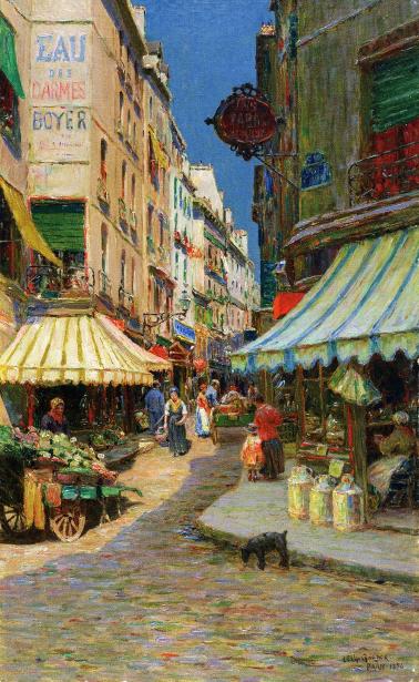 Market Day, Paris