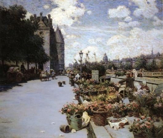 Parisian Flower Market - Quai aux Fleurs