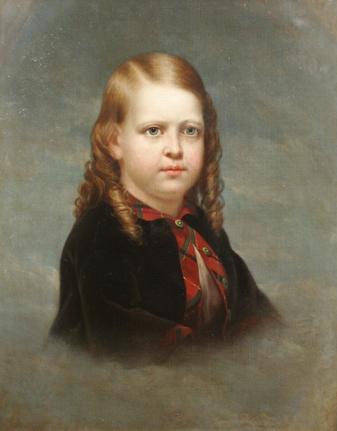 Portrait Of A Young Boy (Claudius Monell Roome)