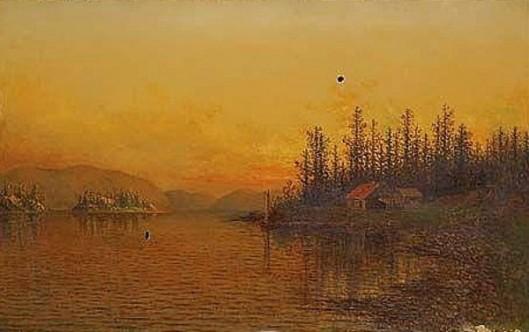 Sunset At Lake George