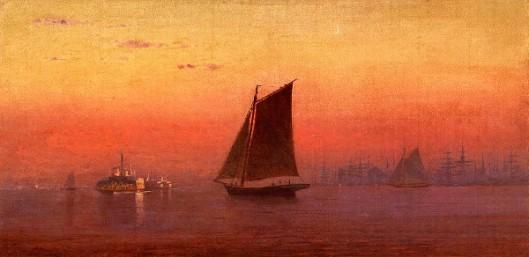 Sunset, New York Harbor