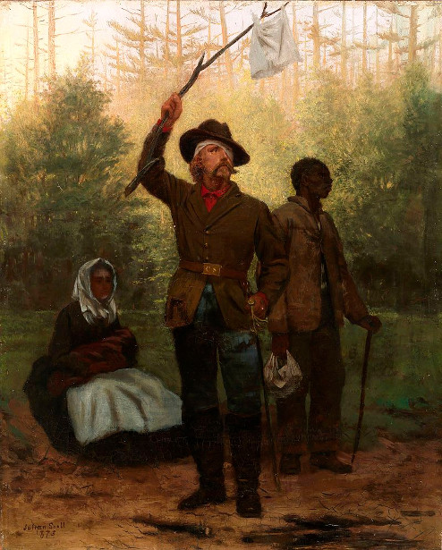 Surrender Of A Confederate Soldier