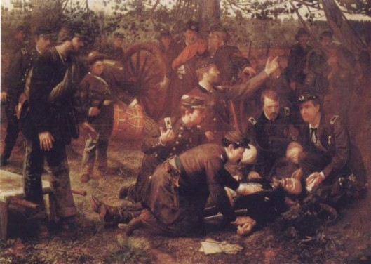 The Death Of General Sedgwick