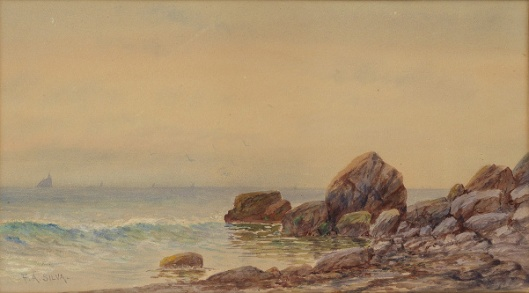 View Of A Rocky Coastline