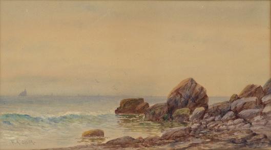 View Of A Rocky Coastline