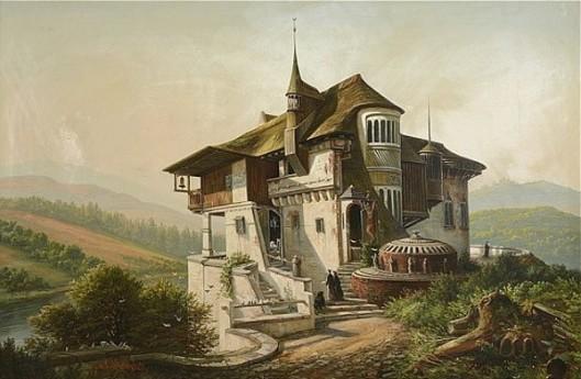 A Grecian Monastery