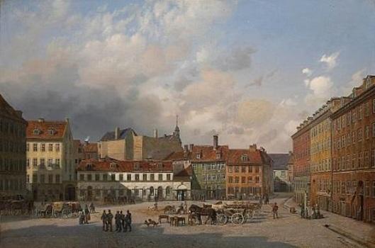 A View Of Hauser Plads, Copenhagen