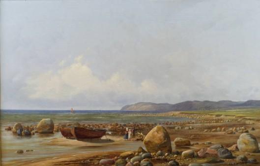 Coastal Scene, Kullen, Sweden