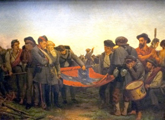 Furling The Flag