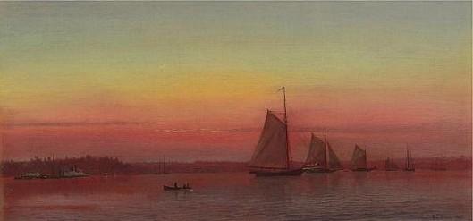 Red Sails At Sunset - Sailing At Sunset