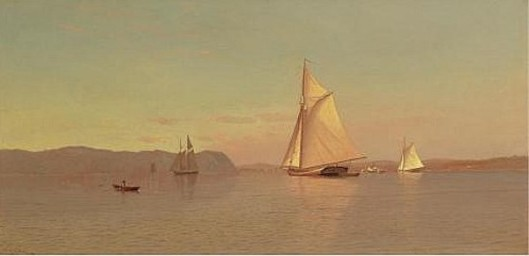Sailing On The Hudson, Nyack
