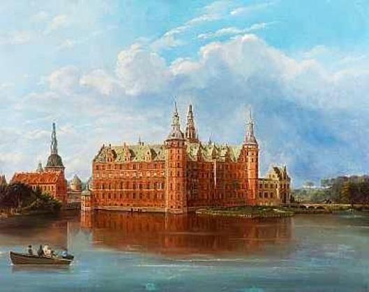Scene From Frederiksborg Castle