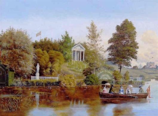 Scene From Odense River