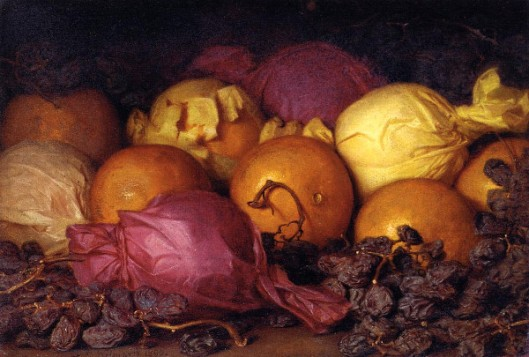 Still Life With Oranges And Raisins
