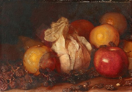 Still Life With Wrapped Orange