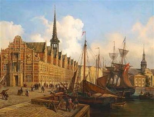 Stock Exchange At Christiansborg