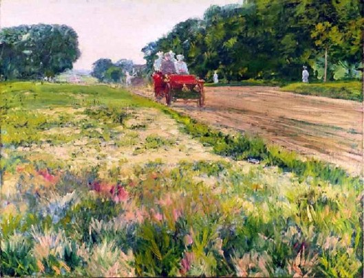 The Horseless Carriage - Main Road Of Long Island