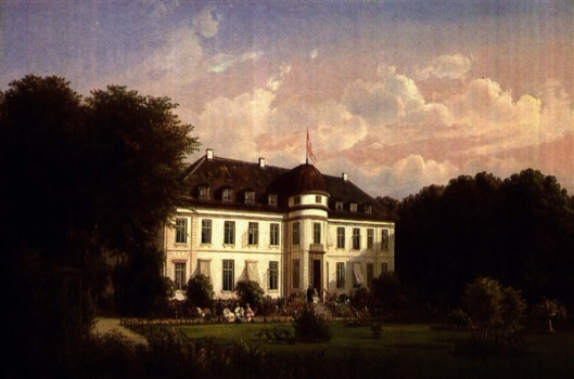The Visit Of Edward, Prince Of Wales, And princess Alexandra To Bernstorff Castle, Denmark, In 1868