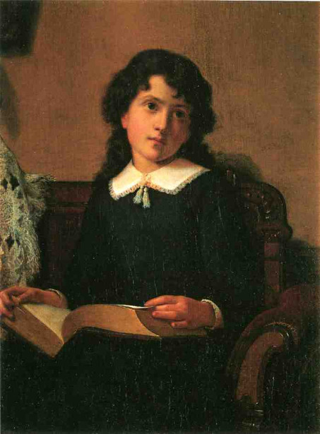 Young Woman - Girl Reading
