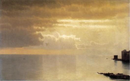 A Calm Sea, Mentone
