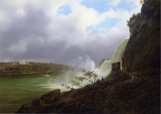 A View Of Niagara Falls