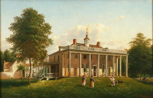 East Front Of Mount Vernon