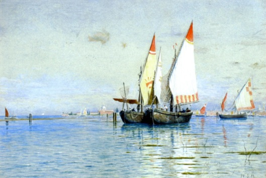 Fishing Boats, Venice