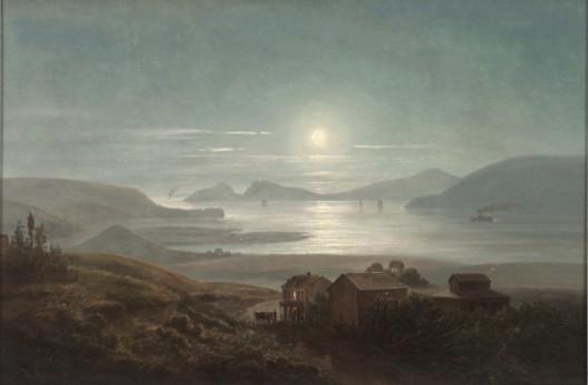 Golden Gate Moonlight
